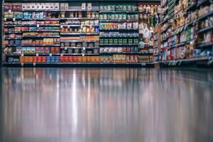 Rayon de produits élaborés alimentaires